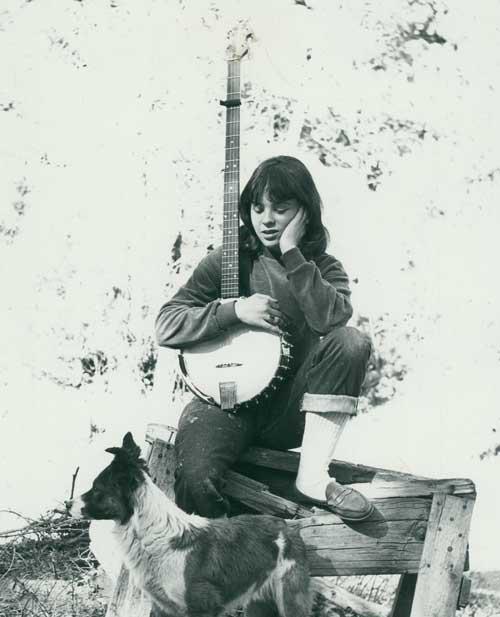 A Lifetime Friend - Etsa with an ODE Banjo, circa 1962